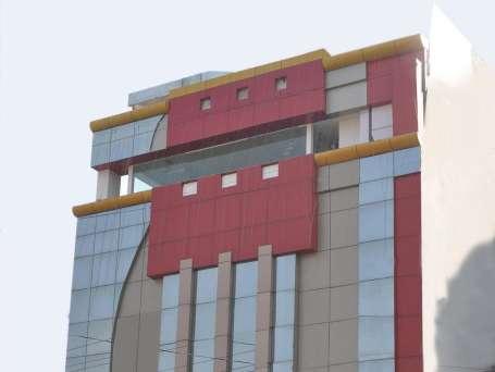 Facade Taj Inn Hotel Agra