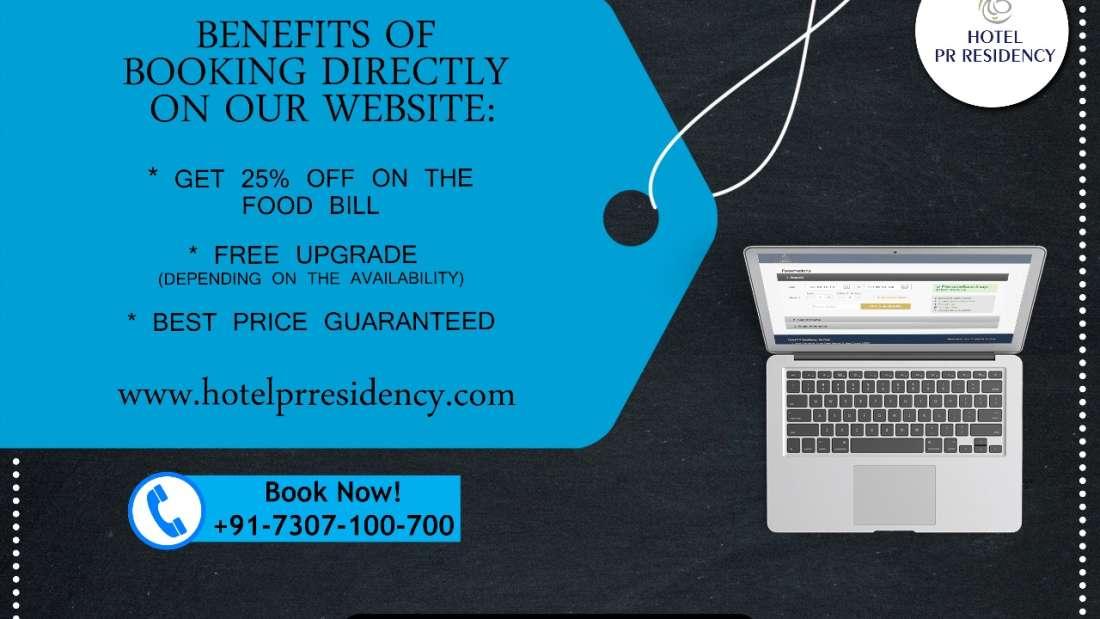 Direct Booking-Hotel PR Residency