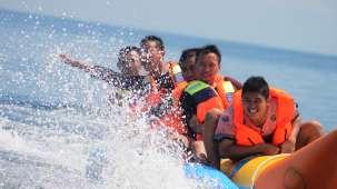 banana ride Lotus Beach Resort Murud Beach-Dapoli Ratnagiri