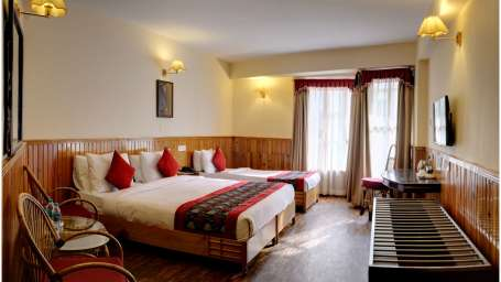 Deluxe Room Triple Sharing