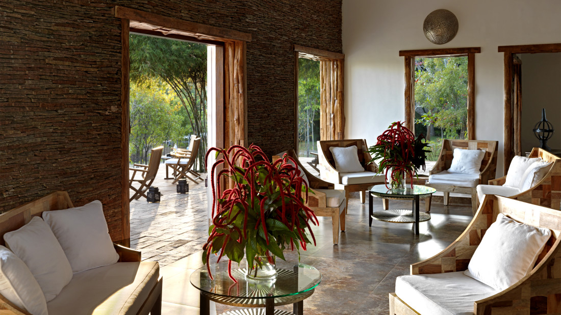 LobbyLobby of The Serai Kabini, Resorts in Kabini, Resorts in Kabini Wildlife Sanctuary 3
