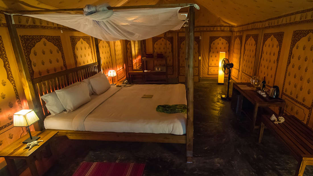 Tented cottages at Barefoot at Havelock Andaman resort2 vwg6bc