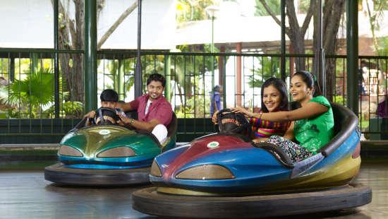 Dry Rides - Dashing Car at Wonderla Kochi Amusement Park