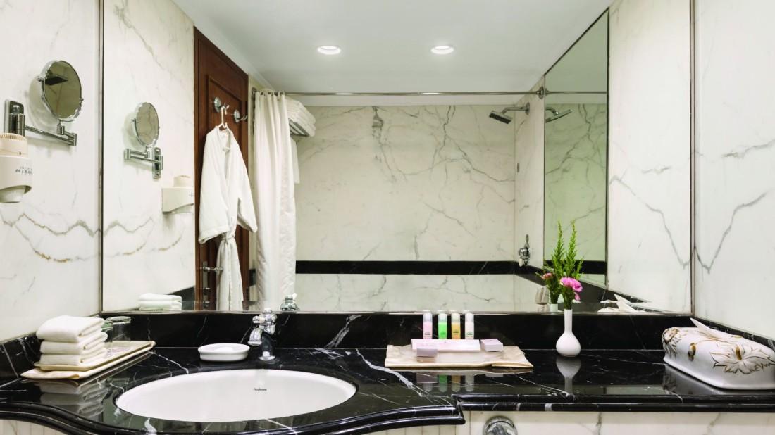 Bathroom at Hotel Ramada Plaza Palm Grove Juhu Beach Mumbai