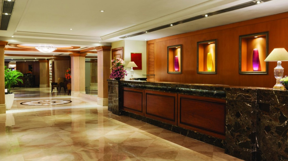 Front Desk of Hotel Ramada Plaza Palm Grove Juhu Beach, Mumbai, Best 5 star Hotels in Juhu Mumbai
