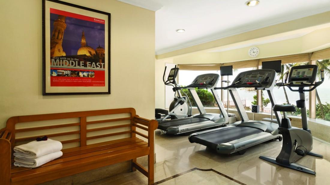 Gym at Hotel Ramada Plaza Palm Grove Juhu Beach Mumbai