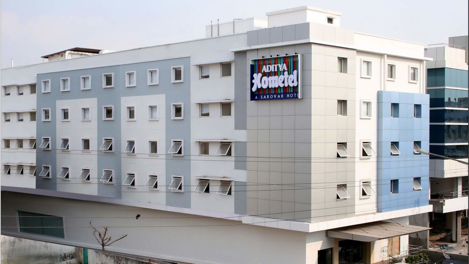 Facade at Aditya Hometel Hyderabad, resorts in hyderabad 2