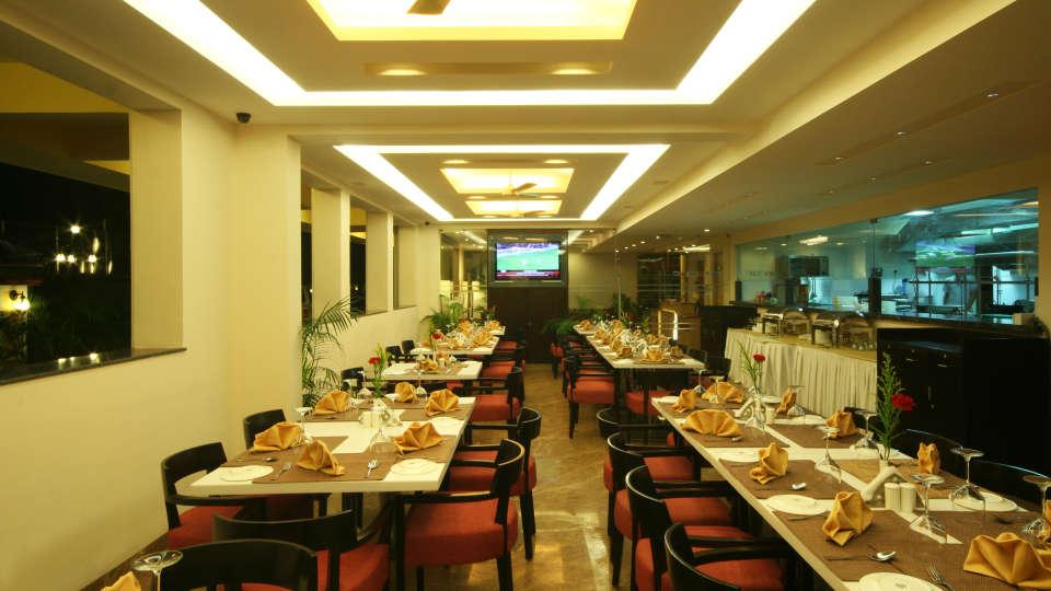 Restaurant Resort De Coracao Goa 11