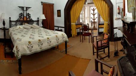 The Ramgarh Bungalows - 19th C, Kumaon Hills Kumaon The Yellow Room The Ramgarh Bungalows Kumaon Hills Uttarakhand