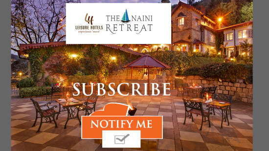 The Naini Retreat, Nainital Nainital Subscribe button