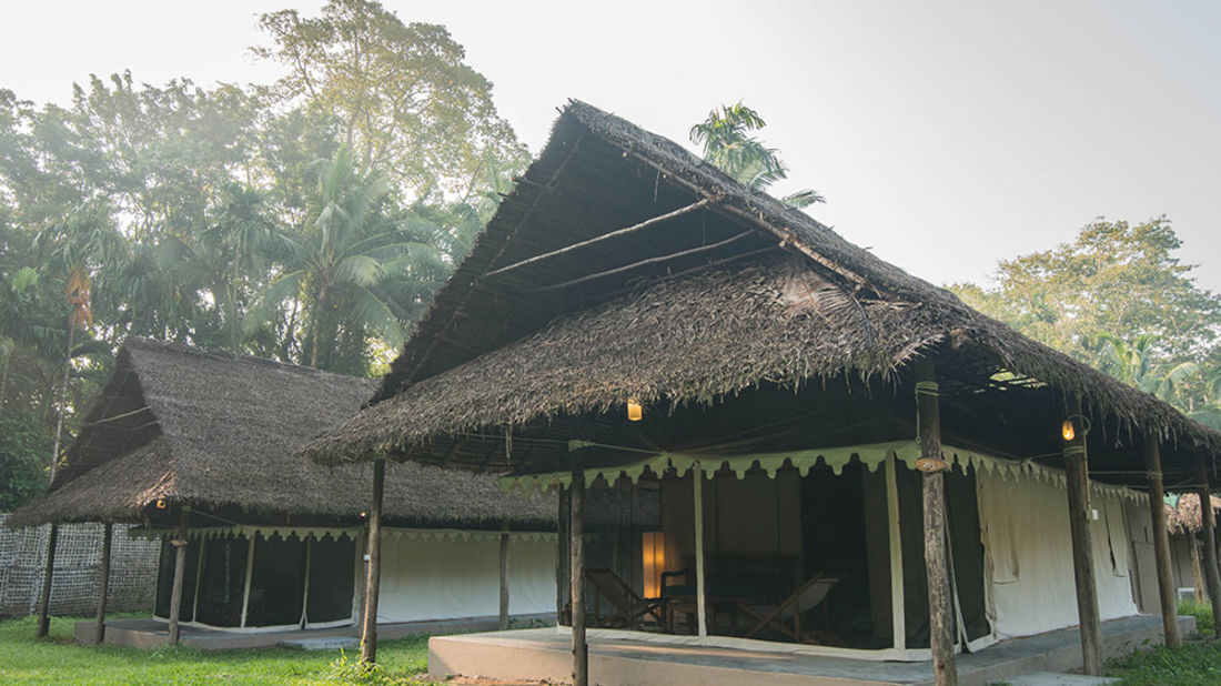 Tented cottages at Barefoot at Havelock Andaman resort rlczvm