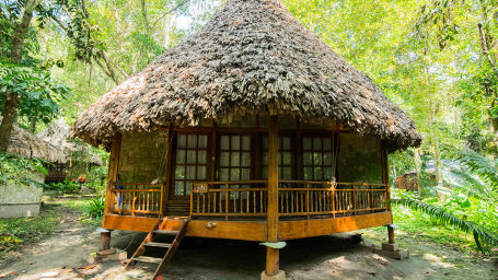 AC Nicobari Cottages at Barefoot at Havelock Andaman resort jg83b6