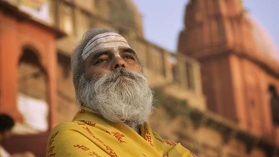 Ganga Lahari Haridwar Haridwar Holy Man India