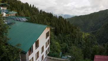 4-Star Hotel in Dehradun, Mountain view from Pacific Hotel Mussoorie
