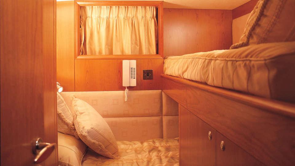 crew-cabin Foxy Lady Goa Ho Foxy Lady Goa Hotel in Yacht in Goa