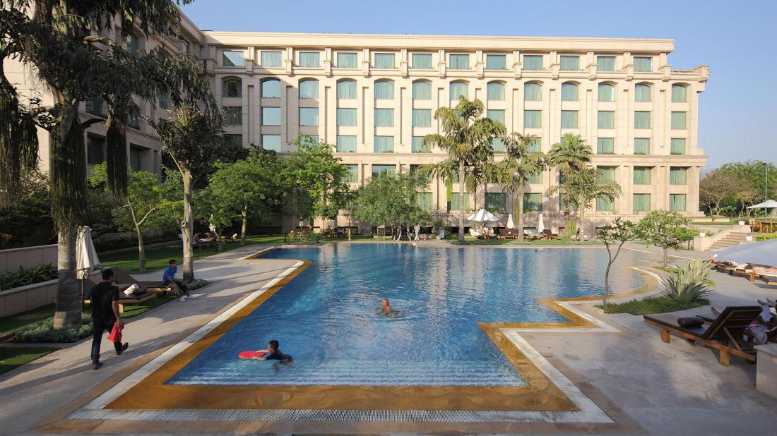 swimming pool, the grand new delhi -3