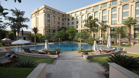 exterior the grand new delhi 5 star hotel in delhi 5-star hotels in delhi 124