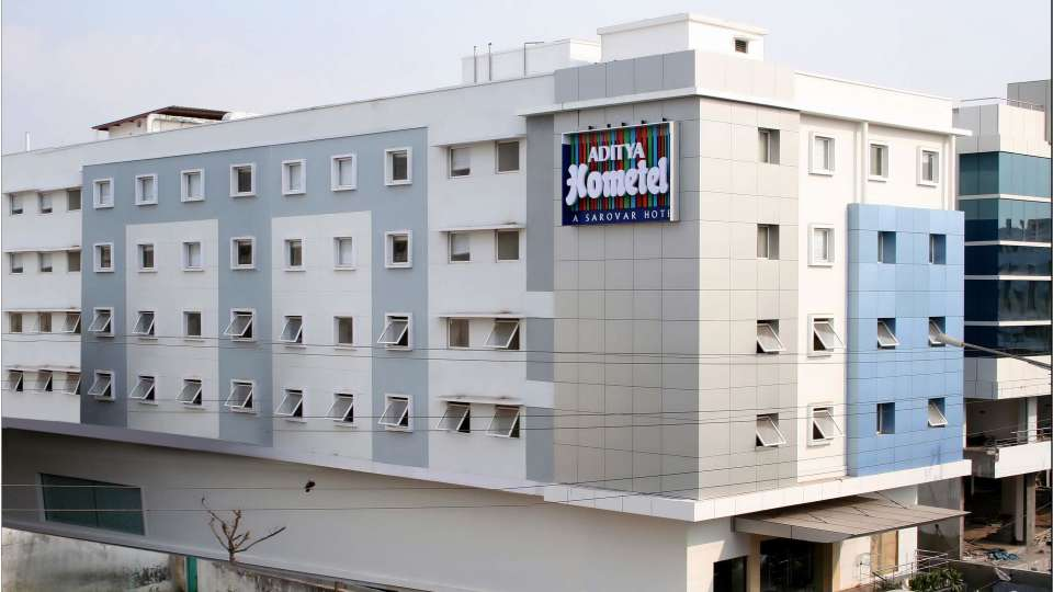Facade at Aditya Hometel Hyderabad,  hotels in hyderabad 2