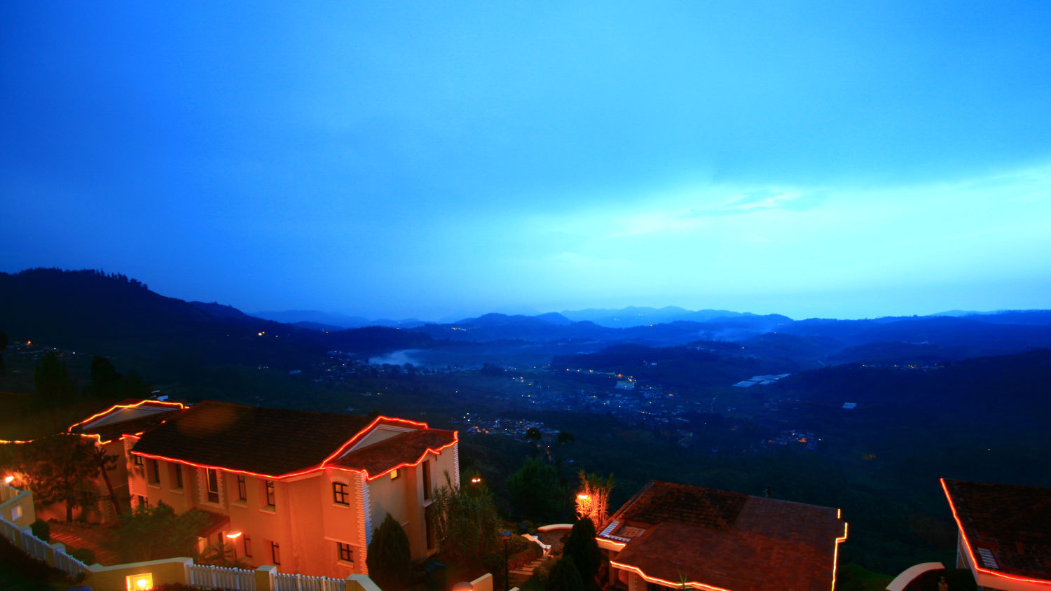 HILL COUNTRY OOTY RESORT NIGHT