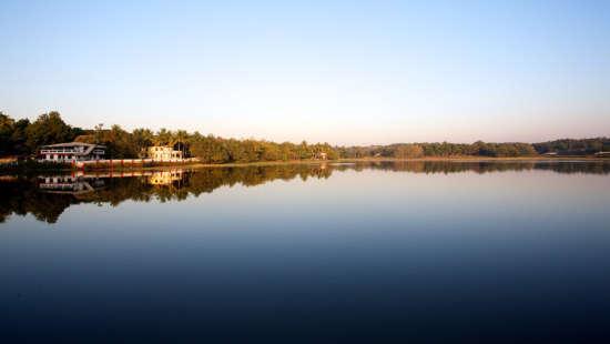 Corjim Lake, Arco Iris - 19th C, Curtorim Goa