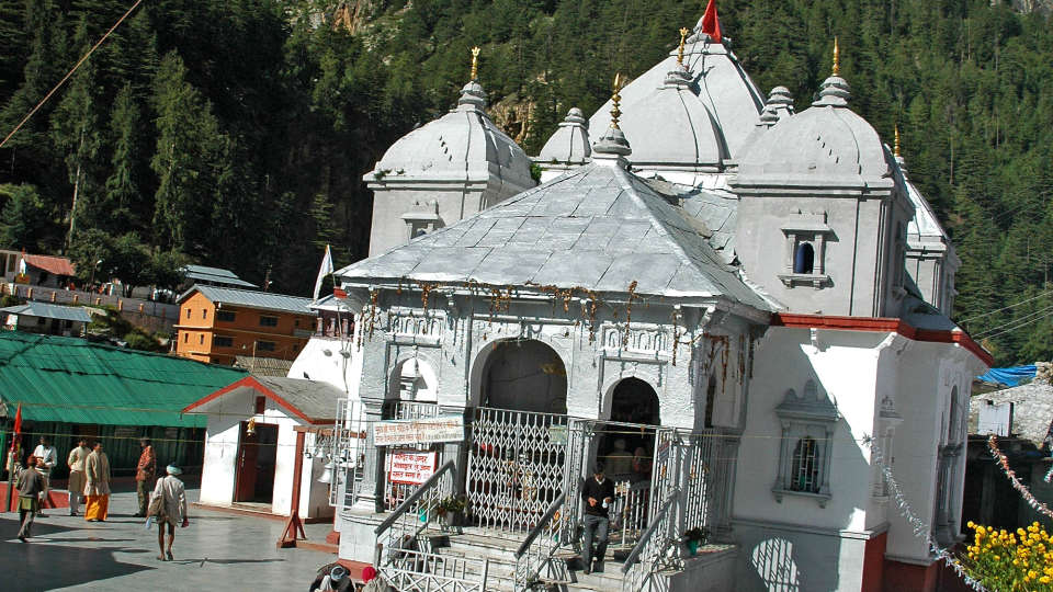 Gangotri-Temple The Chardham Camps Uttarkashi