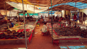 Goa Flea Market, Hamsa Villas Goa, Best Resort In Goa