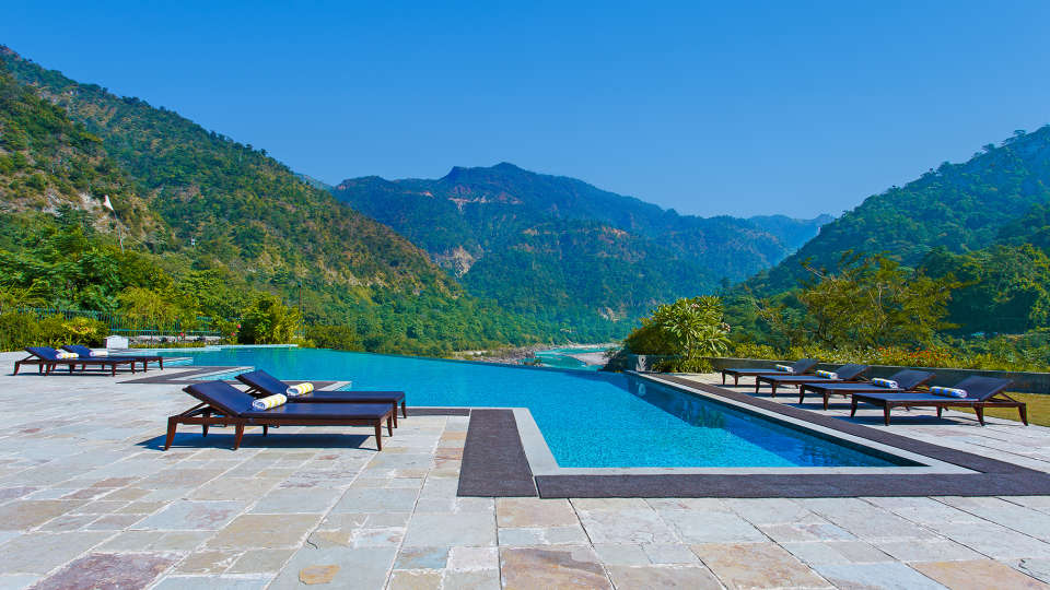 Aloha on the Ganges, Rishikesh Rishikesh Infinity Pool1