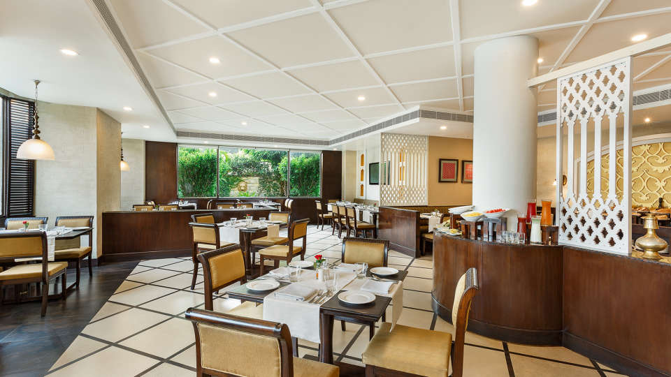 Pavillion Restaurant at La Place Sarovar Portico Lucknow, top hotels in lucknow 1