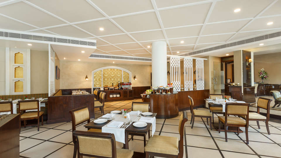 Pavillion Restaurant at La Place Sarovar Portico Lucknow, resorts in lucknow 3