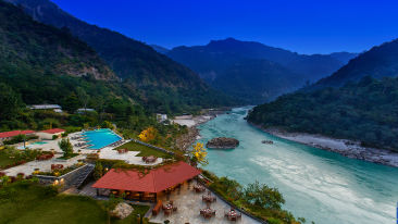 Aloha on the Ganges, Rishikesh Rishikesh Patio alfresco dining 2