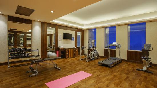 Gym, Seyfert Sarovar Premiere, Hotel in Dehradun