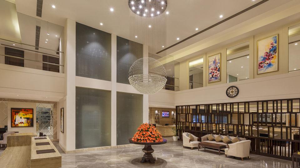 Lobby Reception at Seyfert Sarovar Premiere Dehradun19
