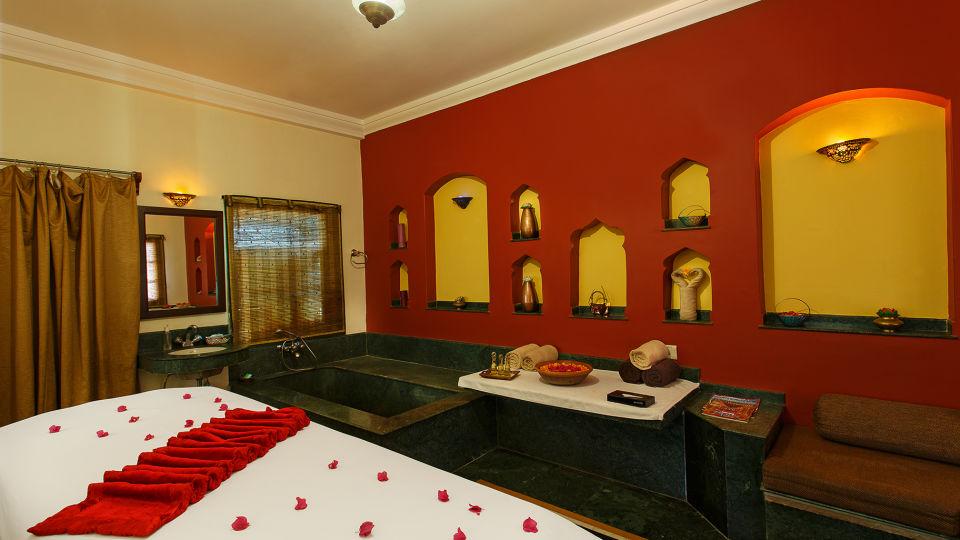 Treatment Room at Tattva -The Haveli Hari Ganga Haridwar