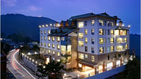 Facade at Summit Sobralia Resort Spa Namchi Hotels in Namchi