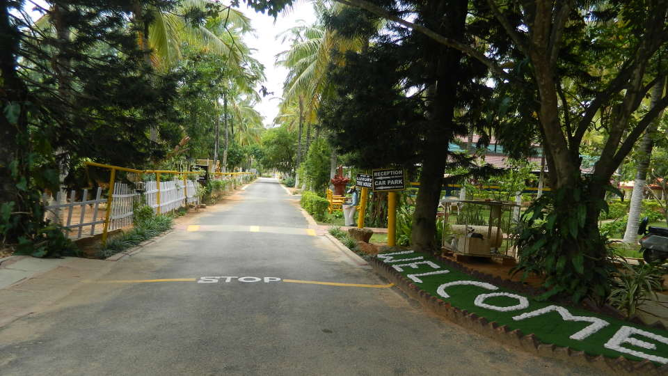Fantasy Golf Resort Bangalore Entrance to Fantasy Golf Resort Bangalore Resort
