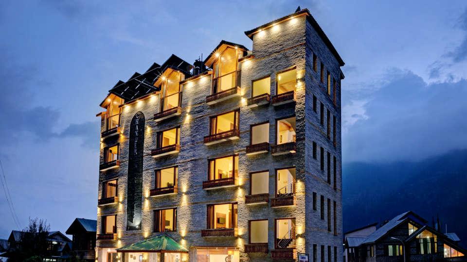 Facade Summit Chandertal Regency Hotel Spa Manali Hotels in Manali 2