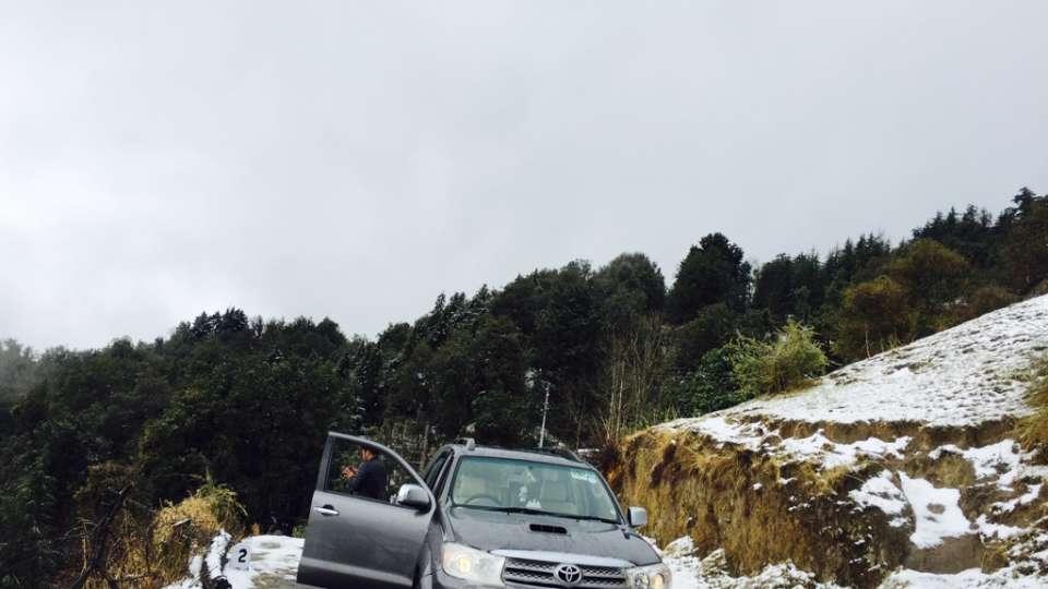 Ojaswi Himalayan Resort, Mukteshwar Nainital Snowfall time Ojaswi Himalayan Resort Mukteshwar 2