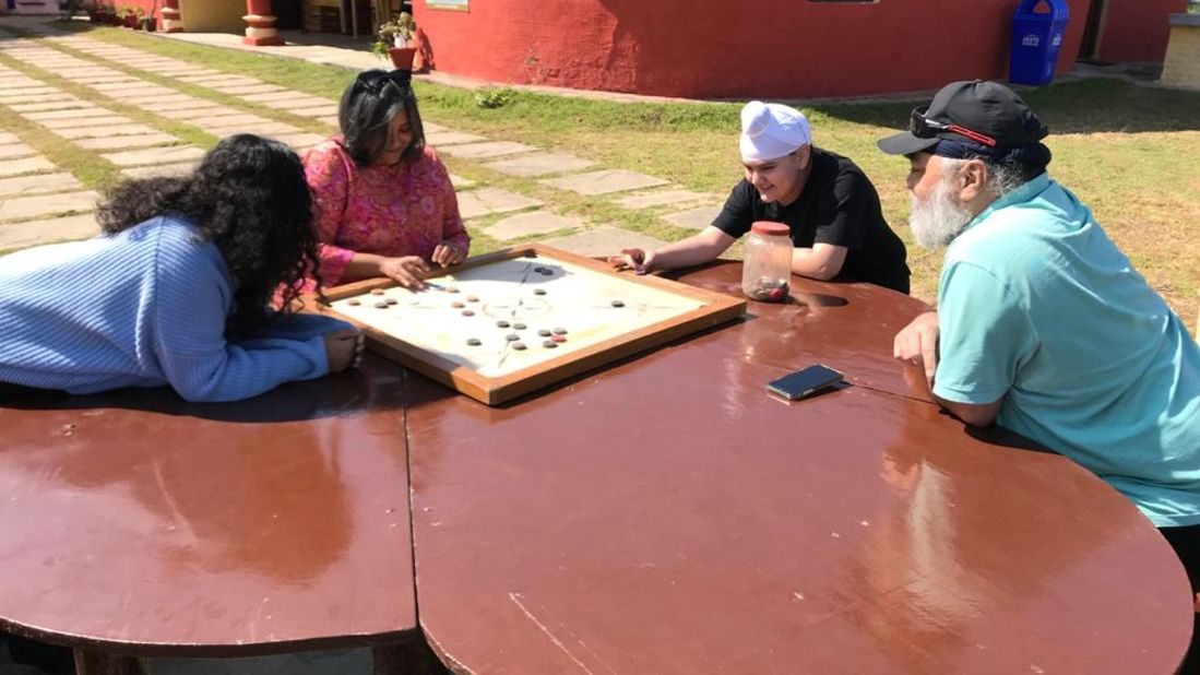 Let s Camp Sitlakhet activity carrom