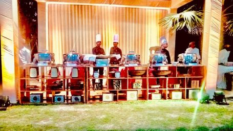 outdoor catering at Narayani Heights hotels, catering in ahmedabad