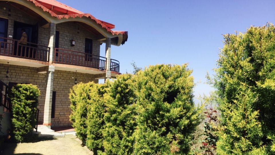 Ojaswi Himalayan Resort, Mukteshwar Nainital Exterior View Ojaswi Himalayan Resort Mukteshwar 18
