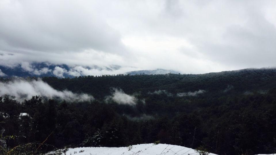 Ojaswi Himalayan Resort, Mukteshwar Nainital Snowfall time Ojaswi Himalayan Resort Mukteshwar 4