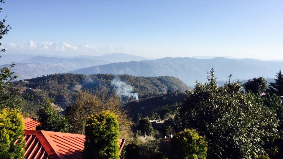 Ojaswi Himalayan Resort, Mukteshwar Nainital View From Ojaswi Himalayan Resort Mukteshwar 2