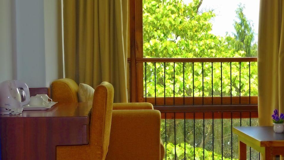 The Golden Crest Hotel Gangtok Gangtok View from Premium Room The Golden Crest Hotel Gangtok