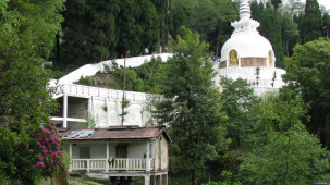 Japanese Peace Pagoda Darjeeling