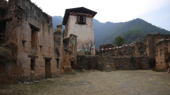 Drukgyel Dzong paro bhutan