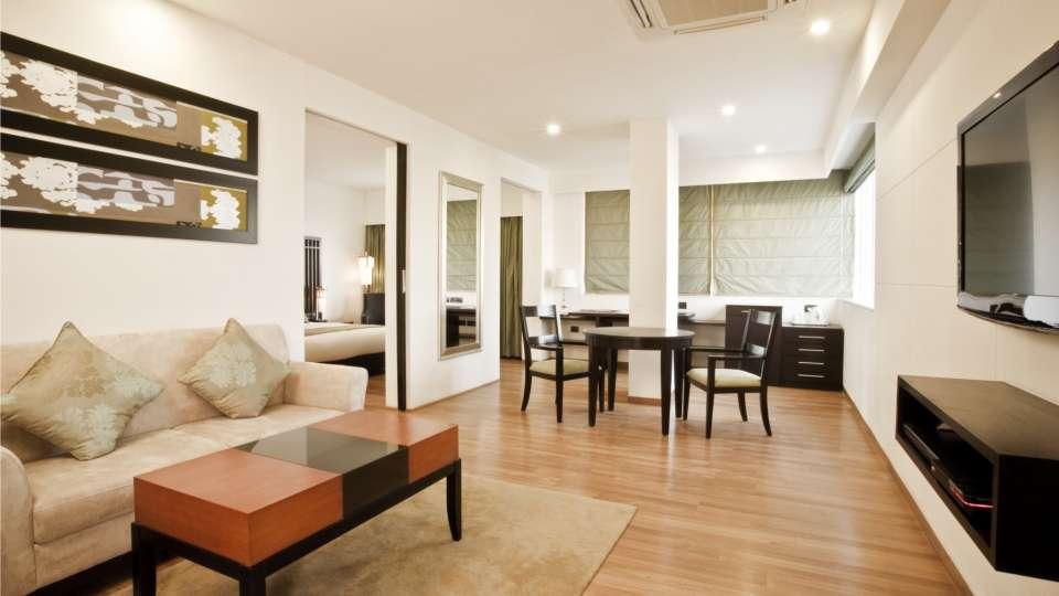 Suites in Banjara Hills, Banjara Hills Suites, Hotel Mint Ebony, Hyderabad