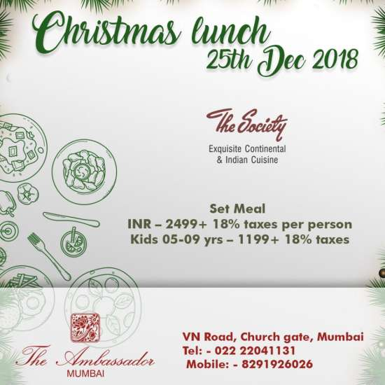 Christmas Special Lunch Society
