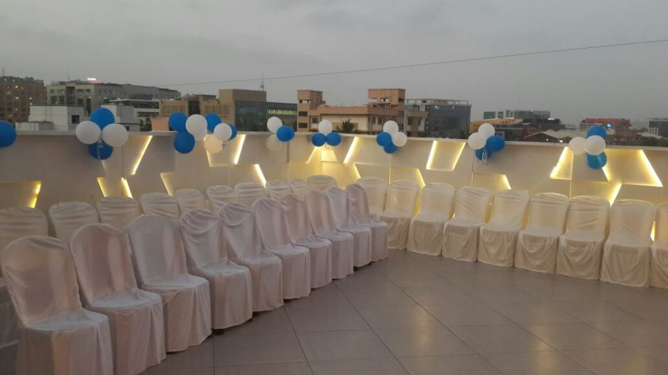 Rooftop Event Venue in Andheri East at Hotel Dragonfly, Hotels in Andheri East