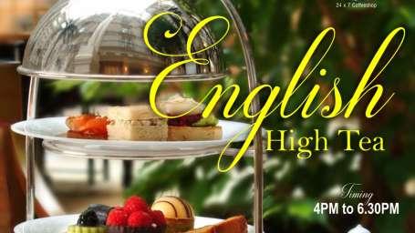 English Hi Tea offers on F B The Ambassador Mumbai