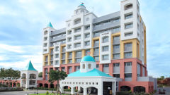 Facade of Wonderla Resort Bengaluru
